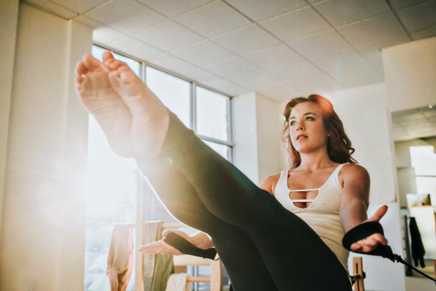 Lifestyle Yoga Pilates Shoot'